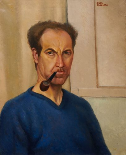 Otis Oldfield – Self Portrait, 1933