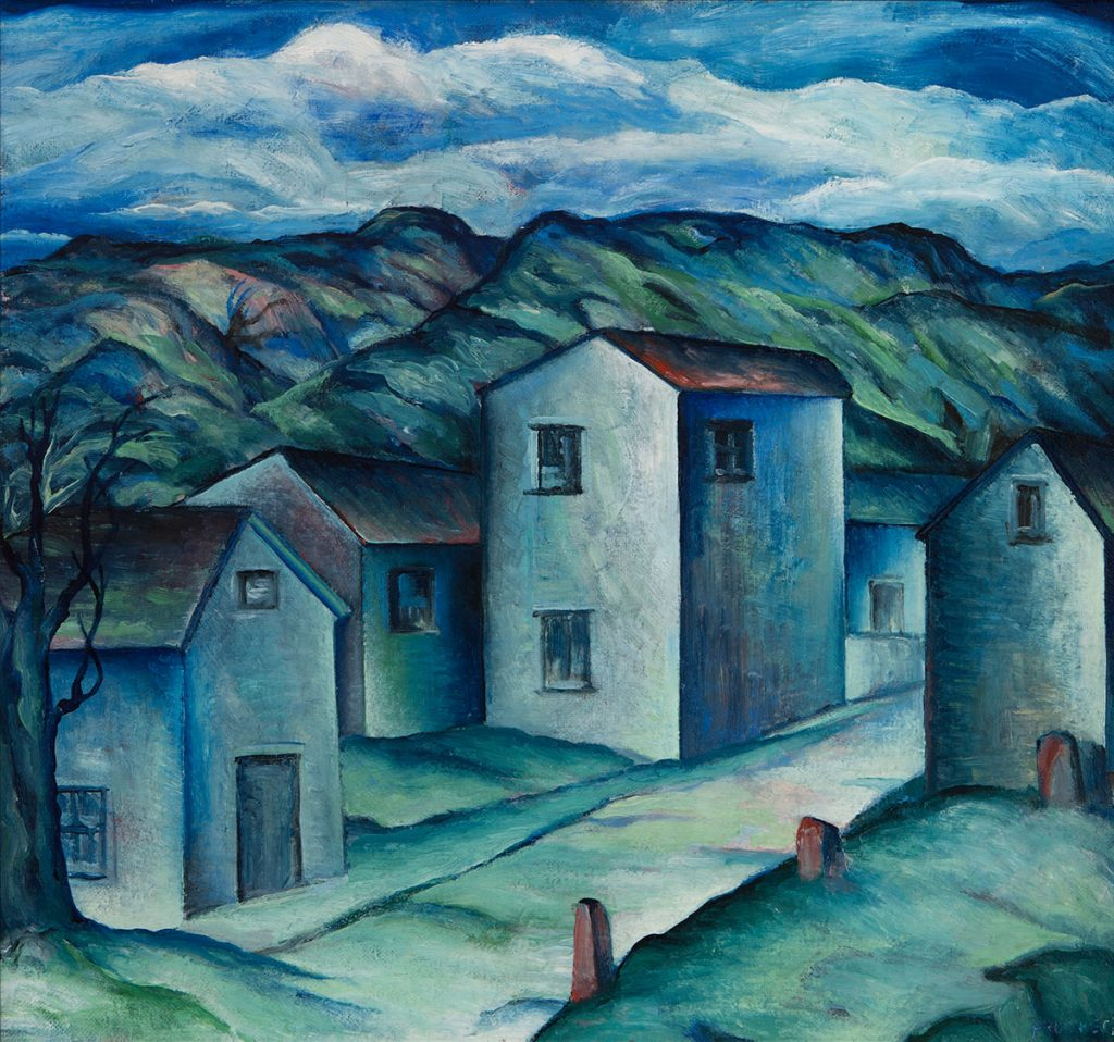 Harvey Gregory Prusheck - Village in Utah
